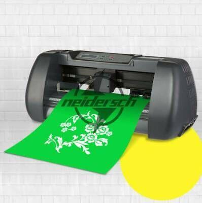 Details About 14 Vinyl Cutter Plotter Machine 375mm Paper Feed Sign Sticker Making Machine Sticker Sign Vinyl Sticker