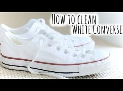15 Trendy Best Way To Cleaning White Converse #cleaning