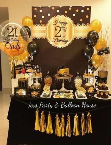 Best House Party Adult Ideas Birthday Party Decorations For Adults Birthday Party Set 21st Birthday Decorations