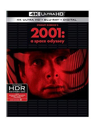 2001 A Space Odyssey Bd 4k Ultra Hd Blu Ray Douglas Rain Frank Miller Keir Dullea William Sylve Space Odyssey 2001 A Space Odyssey Blu Ray