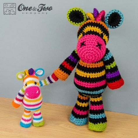 Free Crochet Zebra Pattern - thefriendlyredfox.com   474x474