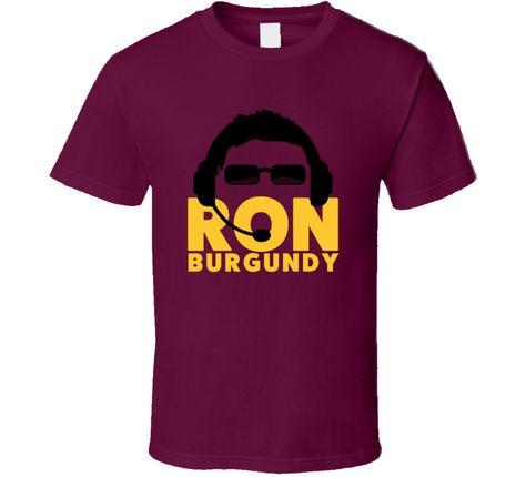 Ron Rivera Ron Burgundy T Shirt
