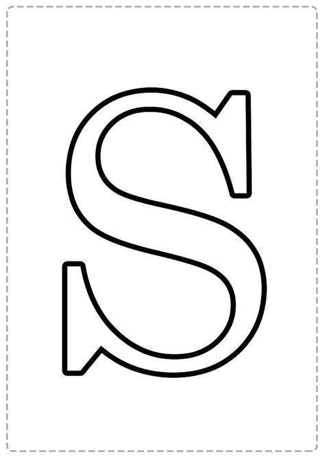 Abecedario En Mayusculas Para Colorear Bebeazul Top Lettering Alphabet Printable Alphabet Letters Letter Stencils