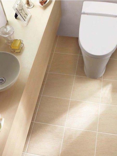 トイレの床材には何を選ぶ 主な素材の種類と特徴 トイレタイル トイレ 床 タイル トイレ インテリア