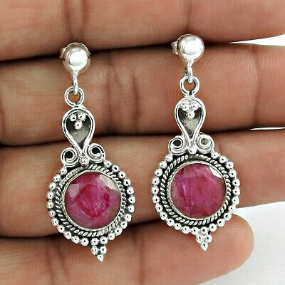 Healing stone 925 Sterling silver 12mm PINK CORAL bead clip on charm pendant for link bracelet