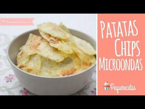 Patatas Fritas En Microondas Mas Saludables Y Super Faciles Menos Sal Poco Acei Patatas Asadas En Microondas Patatas Al Microondas Como Hacer Patatas Asadas