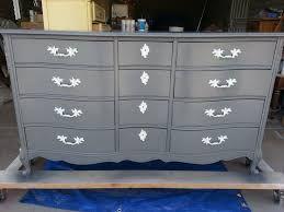 Refinishing French Provincial Dresser