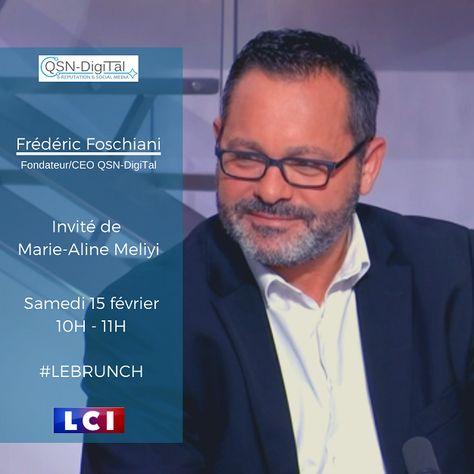 ⚡Interview ️⚡/ Frederic Foschiani, Président de QSN-DigiTal, sur LCI – LE BRUNCH DE L'INFO