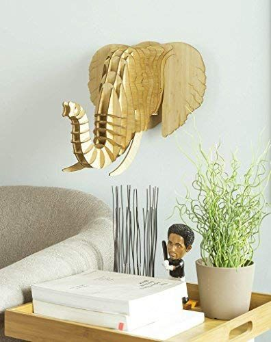 Pin By Leatherwood Design On Elephant Animal Taxidermy Bamboo Plywood Bamboo