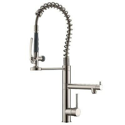 Ad Ebay Url Qidian Commercial Pre Rinse Kitchen Faucet With Pull