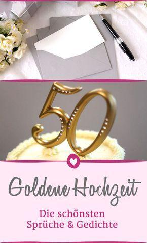 Schöne Sprüche Zur Goldenen Hochzeit Für Ihre
