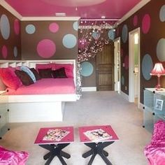 idea for 13 year old girls room - Google Search | Teenage Girl Bedroom  Designs | Pinterest | Google search, Room and Bedrooms