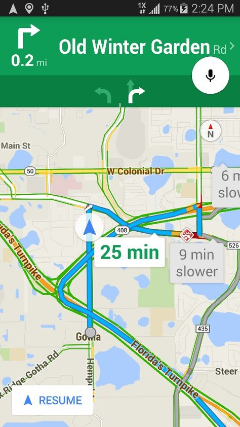 My favorite Google map directions - Orlando FL | Maps ...