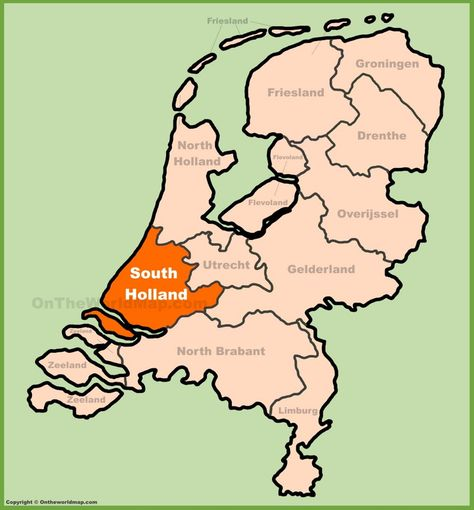 large detailed topographic of drenthe map » ..:: Edi Maps ...