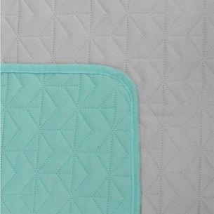 160x220 Tagesdecke Mint Grau Tagesdecke Mint Design Shop