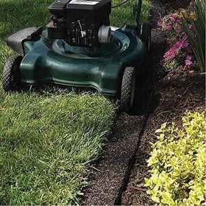 Edge Border Recycled Rubber Mulch Mat Rubber Mulch Garden Edging Landscape Borders