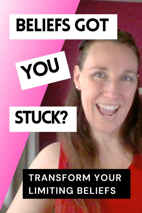 We all have limiting beliefs that keep us stuck. It's part of being human. Do you know what yours are? And how do you change your limiting beliefs? #feelingstuck #selfdevelopmentjourney #limitingbeliefs