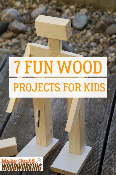7 Fun Bois des Projets pour les Enfants