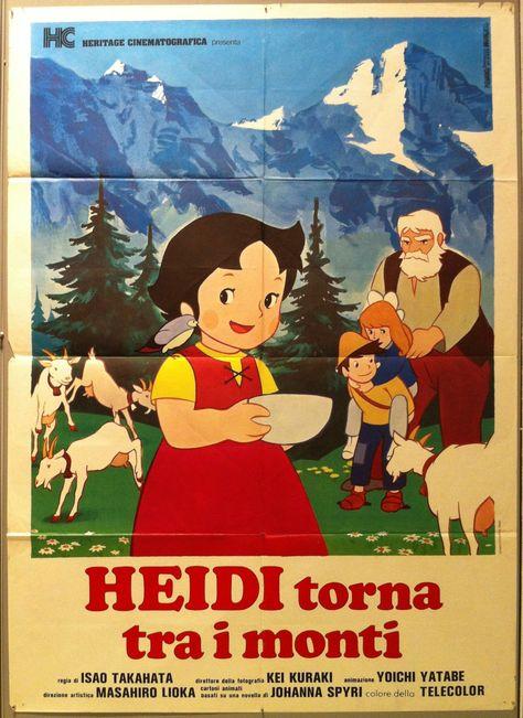 Heidi torna tra i monti - 39x55 / Italy, 1977