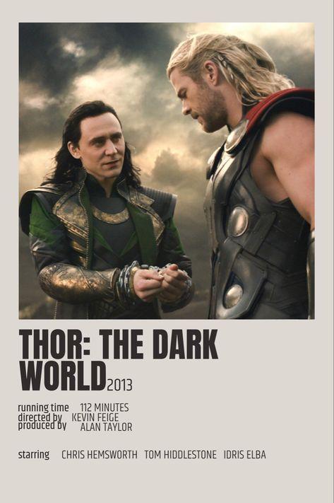 Thor The Dark World Polaroid Poster