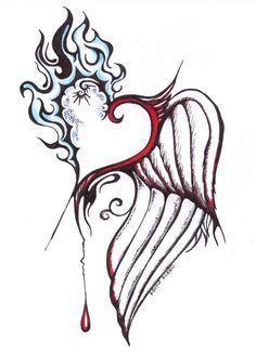 Typisch, der Engel und der Dämon verliebt love Wie schön! 😊 - #Dämon #der #Engel #LOVE #schön #Typisch #und #verliebt #wie