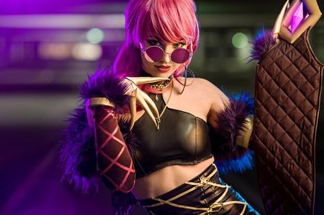 K/DA Eve by Fae La Blanche   I just arrived to PixelMania I am going there for the fourth year in the row. It's the biggest event of the year for me and every time I am looking forward to the new edition.  Follow my instagram stories to see many insights about the event. ;)  Tomorrow we are shooting FF7R Aerith&Tifa duo with Fae La Blanche and Haruhiism Cosplay. They've been working like crazy past few weeks to finish the costumes and I can't wait to see them IRL.   Find more pictures on Faceboo