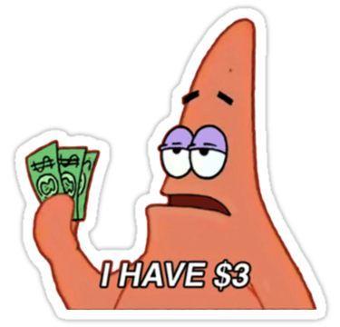 Patrick Star Meme Sticker Meme Stickers Snapchat Stickers