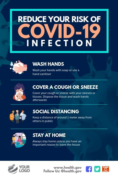 Buat Desain Yang Sempurna Dengan Menyesuaikan Templat Yang Mudah Digunakan Dalam Hitungan Menit Dengan Mudah Konversikan De Di 2020 Promosi Kesehatan Kesehatan Poster