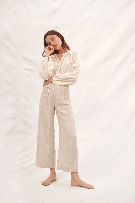 """CHRISTY DAWN: """"Two of our newest designs coming on Thursday with the Spring Collection, the Faye Top and the Mara Trouser! Heels Outfits, Outfit Jeans, Jean Outfits, Trouser Jeans, Trousers, Neutral, Spring Collection, Cheap Clothes, Minimalist Fashion"""