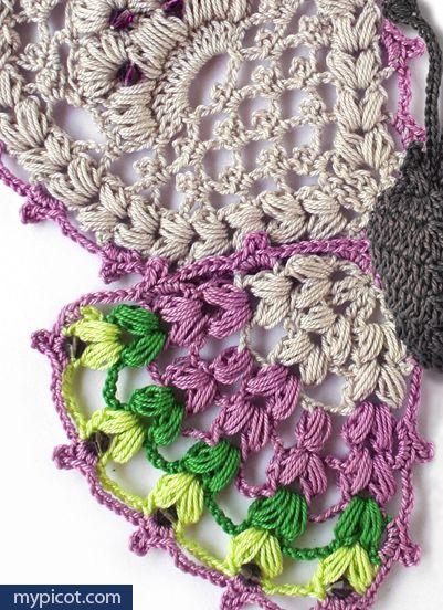 MyPicot   Free crochet patterns ✿⊱╮Teresa Restegui http://www ...