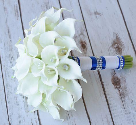 lis calla blanche pour mariée