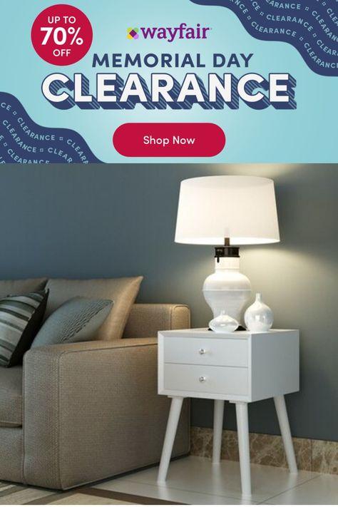 Corrigan Studio® Heger 2 - Drawer Nightstand in, Wood in White, Size 23