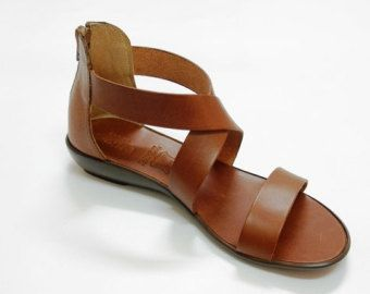 a0139c1fbbb3eb List of Pinterest leather sandals handmade brown images   leather ...