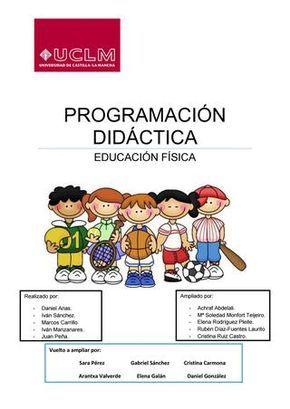 Programa De Estudio 2º Básico Educación Física 2012 Educacion Fisica Profesor Educacion Fisica Educacion Fisica En Primaria