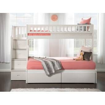 Pierre Twin Over Full Bunk Bed With Drawers Bunk Beds With