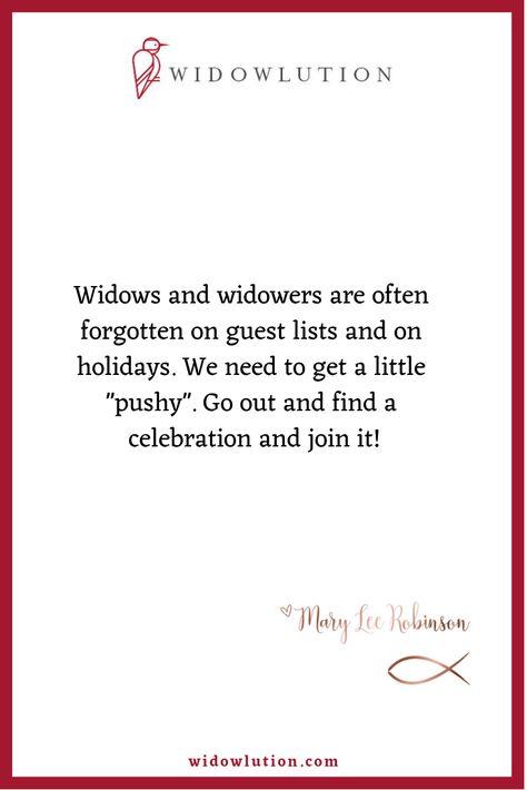 Widows or widowers us