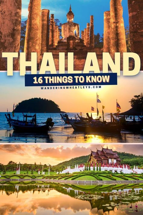 16 Things to Know Before Visiting Thailand