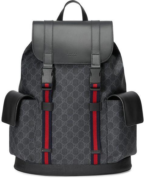 Gucci Soft GG Supreme Backpack  2fbc57a5ca6a1