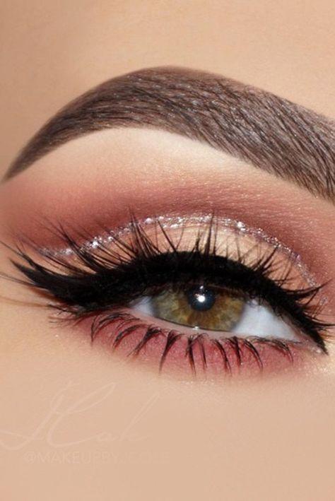 Eye makeup eyeliner , augen make-up eyeliner , eye-liner maquillage des yeux , delineador de Makeup Eye Looks, Eye Makeup Steps, Wedding Makeup Looks, Cute Makeup, Perfect Makeup, Prom Makeup, Gorgeous Makeup, Bridal Makeup, Gorgeous Eyes