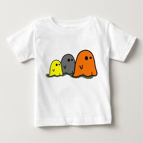 Halloween Ghosts Cute Shirt | Zazzle.com