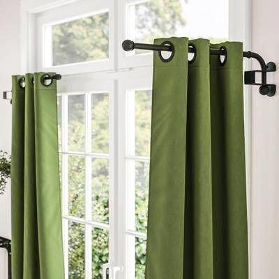 17 Stories Tiquan Curtain Swing Arm Reviews Wayfair