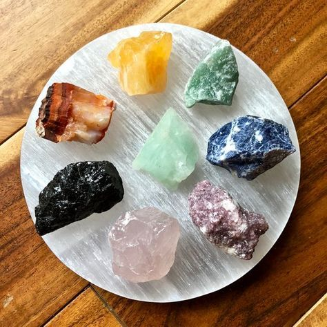 Selenite Plate 5 6 Selenite Crystals | Etsy | Selenite crystal, Crystals,  Selenite stone