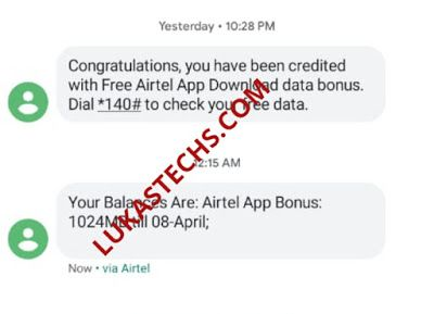 How To Get Free 1gb Data On Airtel Via My Airtel App Data App How To Get