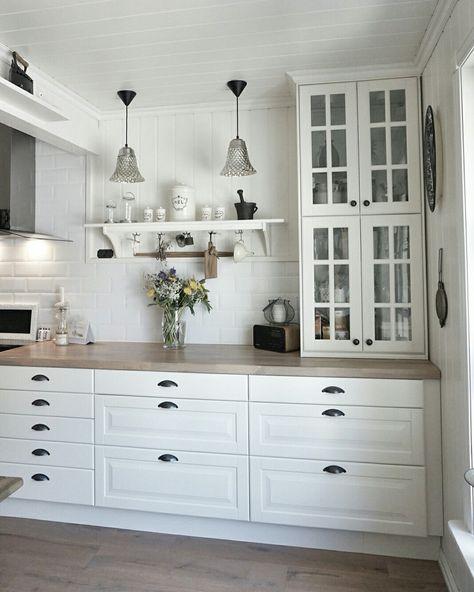 Pin by Ялена Мотовилова on кухня Pinterest Kitchens, Kitchen - ikea küche landhausstil