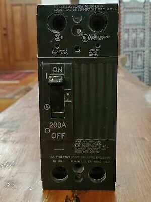 Sponsored Ebay Ge Tqd22200 200a 240v 2p 10ka Lug Circuit Breaker General Electric 200 Amp In 2020 Things To Sell Ebay Breakers