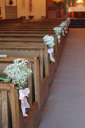 Sencillos Y Hermosos Arreglos De Iglesia Para Matrimonio