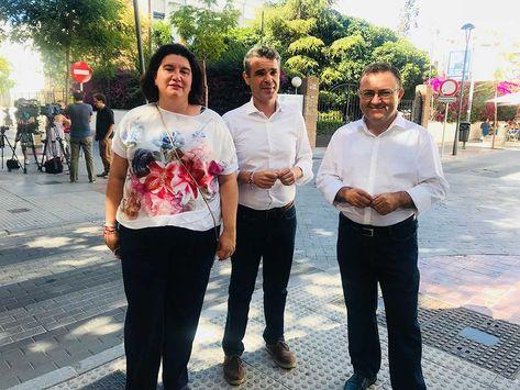 Miguel Ángel Heredia ha preguntado a Casado y a Moreno Bonilla por qué el PSOE ha hecho más en dos meses en el gobierno porAndalucía que el PP en 7 años.