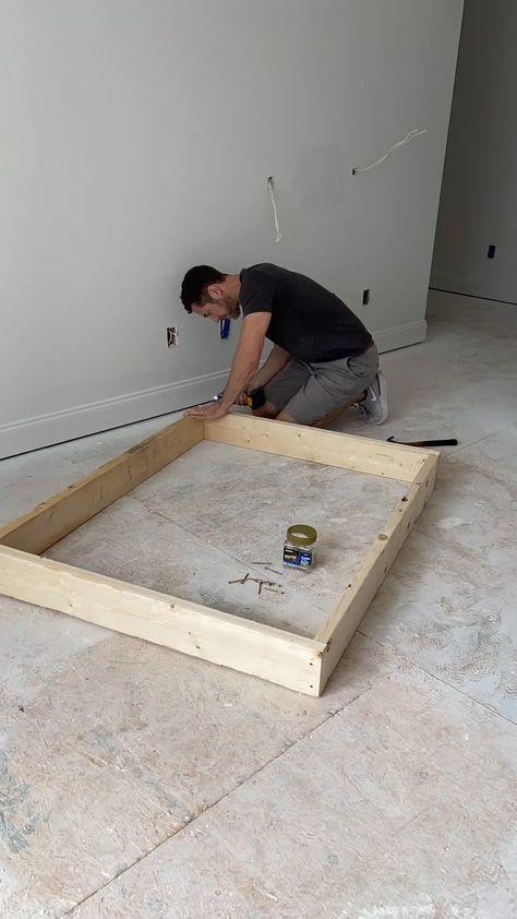 Built-in Bunk Bed Plan