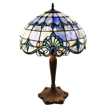 River Of Goods Allistar Table Lamp Tablelamps Stained Glass