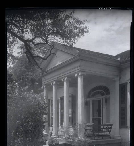 Rose Hill John Brand House Lexington Ky Rose Hill Facade Lexington